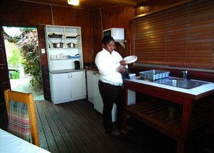Self catering unit  kitchenette